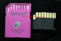 KINGMAX  SDHC (32Gb) class 6 waterproof